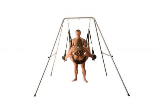 Screamer Sex Swing with stand