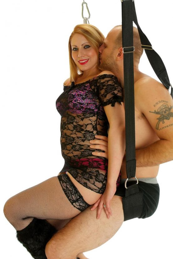 Sex Swing Positions - Reverse Cowgirl