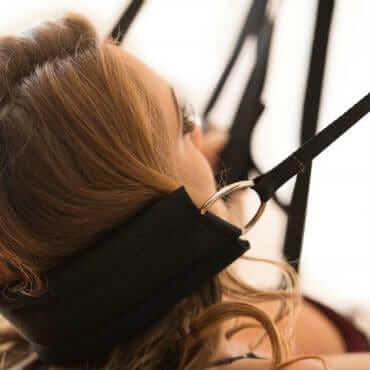 Headrest for swing